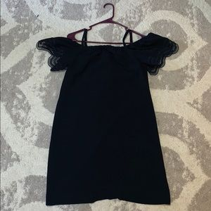Off the shoulder Ann Taylor dress worn only once!